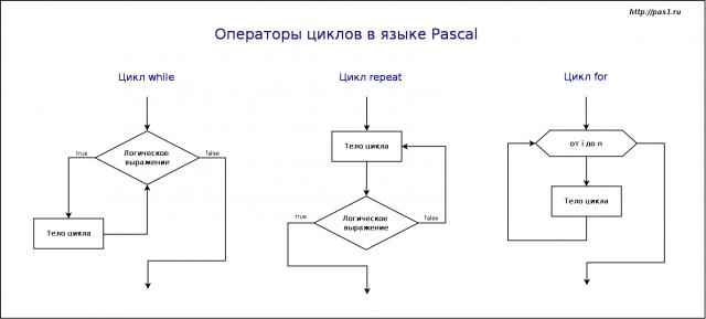 Решение задач на циклы в while задачи на объем пирамиды с решением егэ